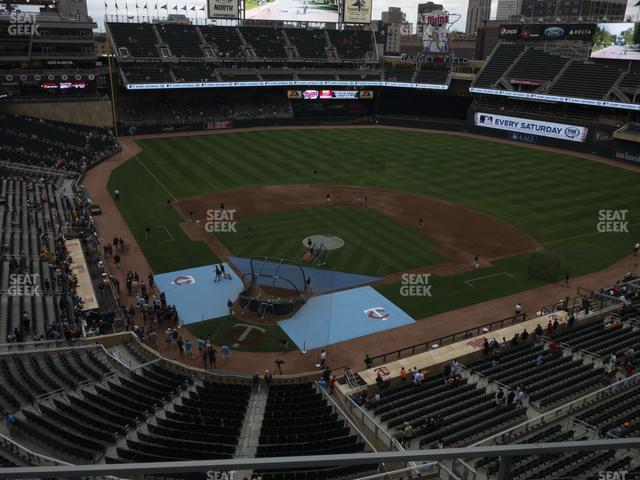 Target Field Section 213 view