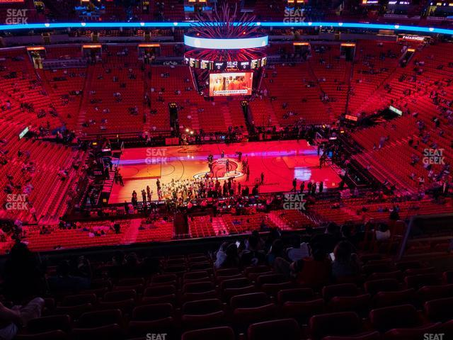 American Airlines Arena Section 309 view