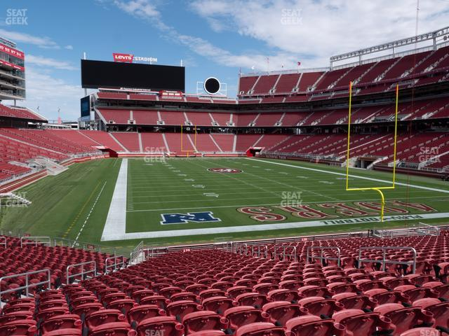 Levi's Stadium Section 129 view