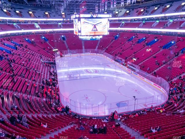Bell Centre Section 208 view