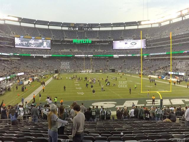 MetLife Stadium Section 103 view
