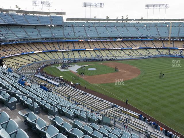 Dodger Stadium Reserve 44 view