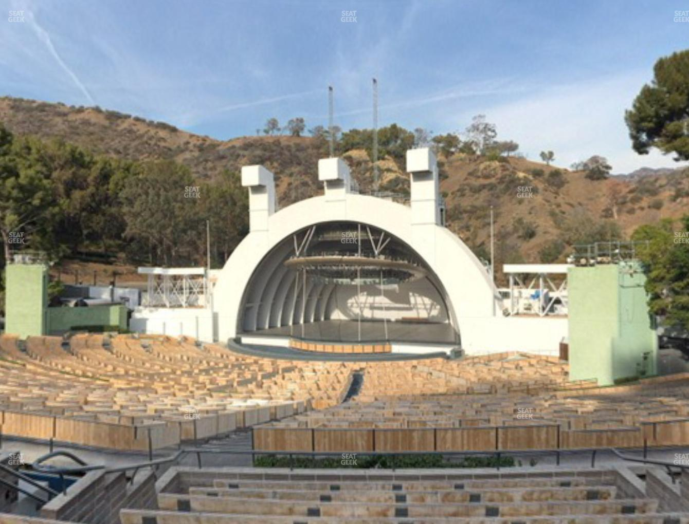 Concert at Hollywood Bowl Section F 1 View