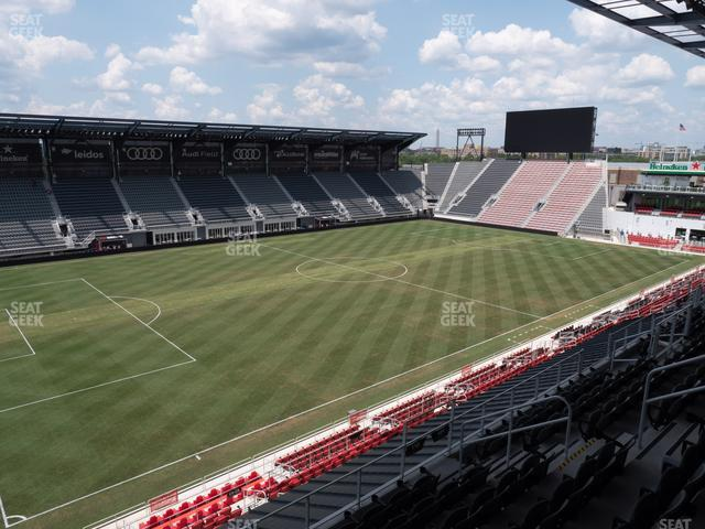 Audi Field Section 110 view