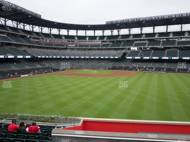 SunTrust Park Section 154 view