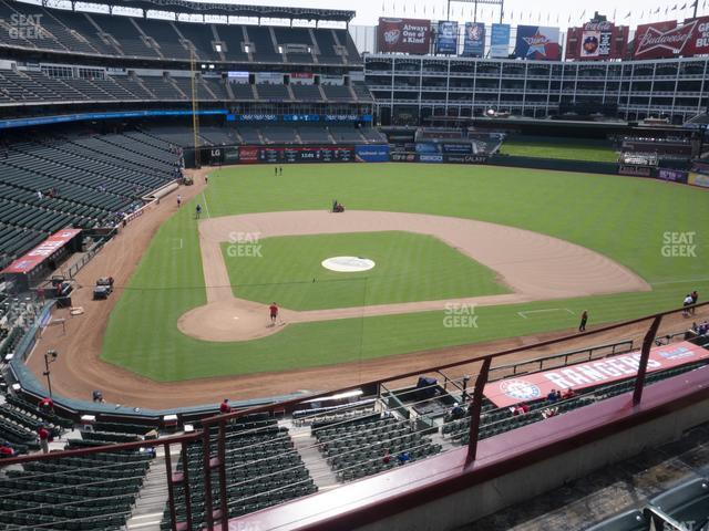 Globe Life Park Section 230 view