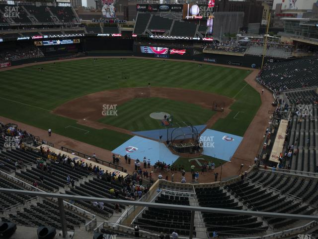 Target Field Section 217 view