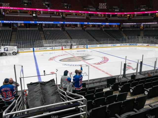 Honda Center Section 209 view