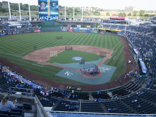 Kauffman Stadium Section 417 view
