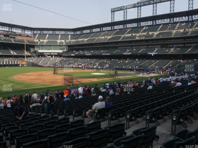 Coors Field Section 143 view