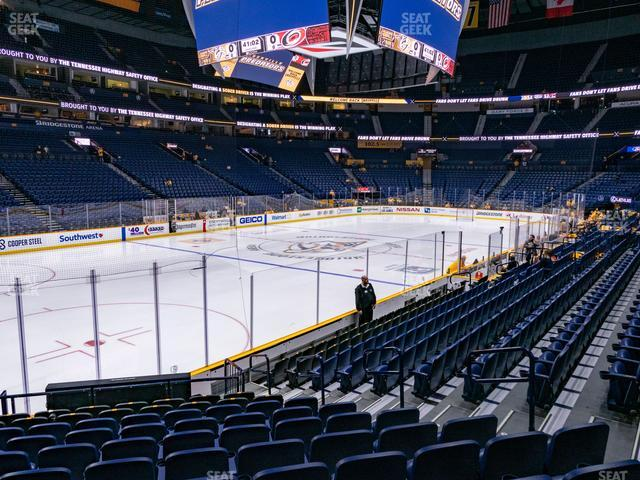 Bridgestone Arena Section 113 view