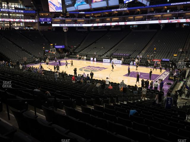 Golden 1 Center Section 118 view
