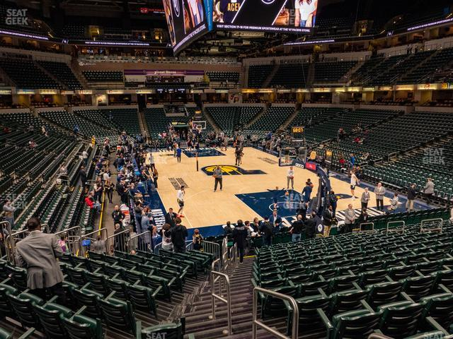 Bankers Life Fieldhouse Section 2 view