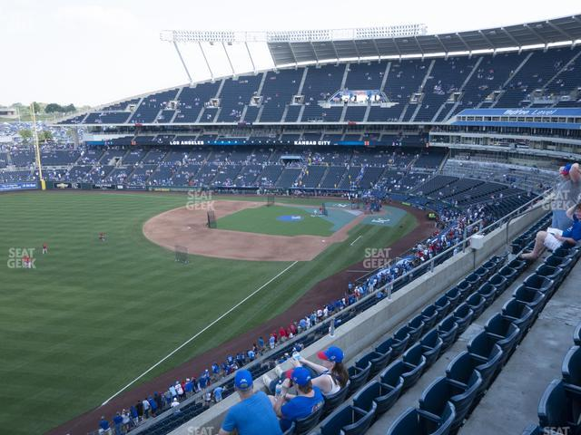 Kauffman Stadium Section 403 view
