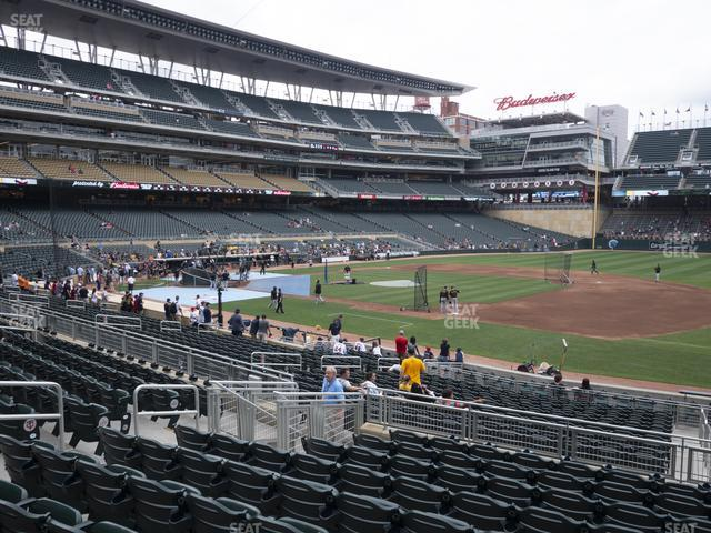 Target Field Section 106 view