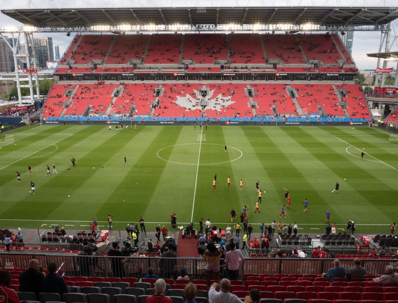 Concert at BMO Field Section 223 View