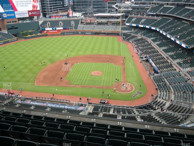 SunTrust Park Section 430 view