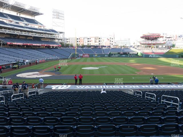 Nationals Park Section 130 view
