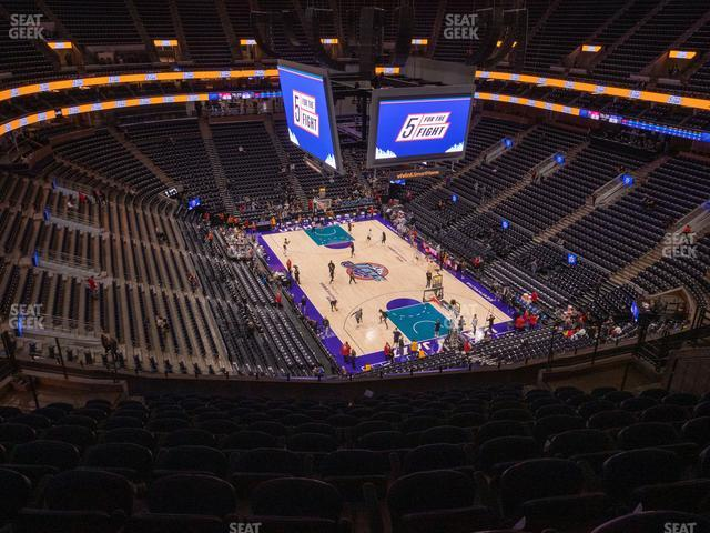 Vivint Smart Home Arena Section 125 view