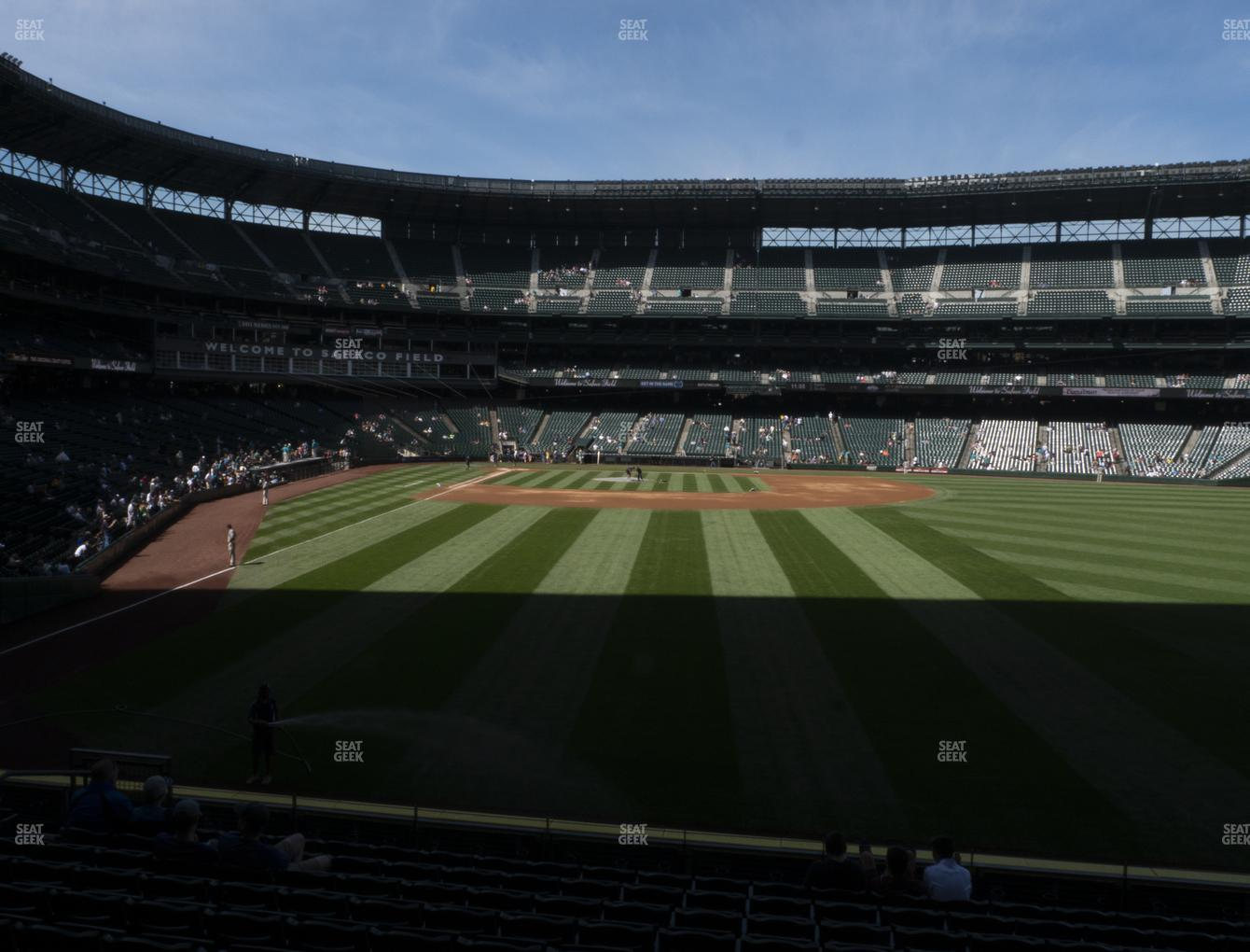 Seattle Mariners at T-Mobile Park Section 108 View