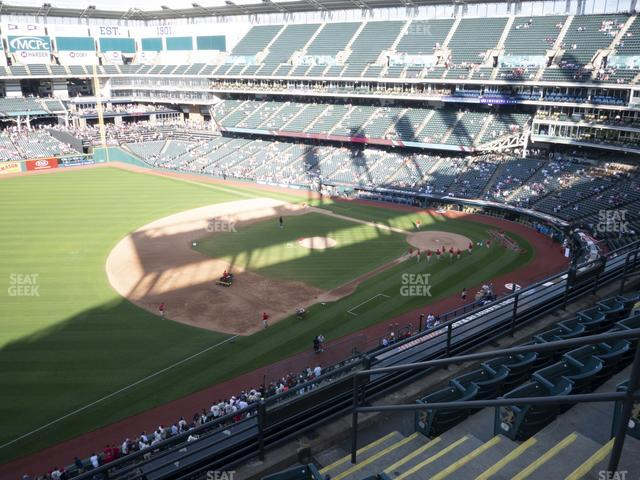 Progressive Field Section 471 view