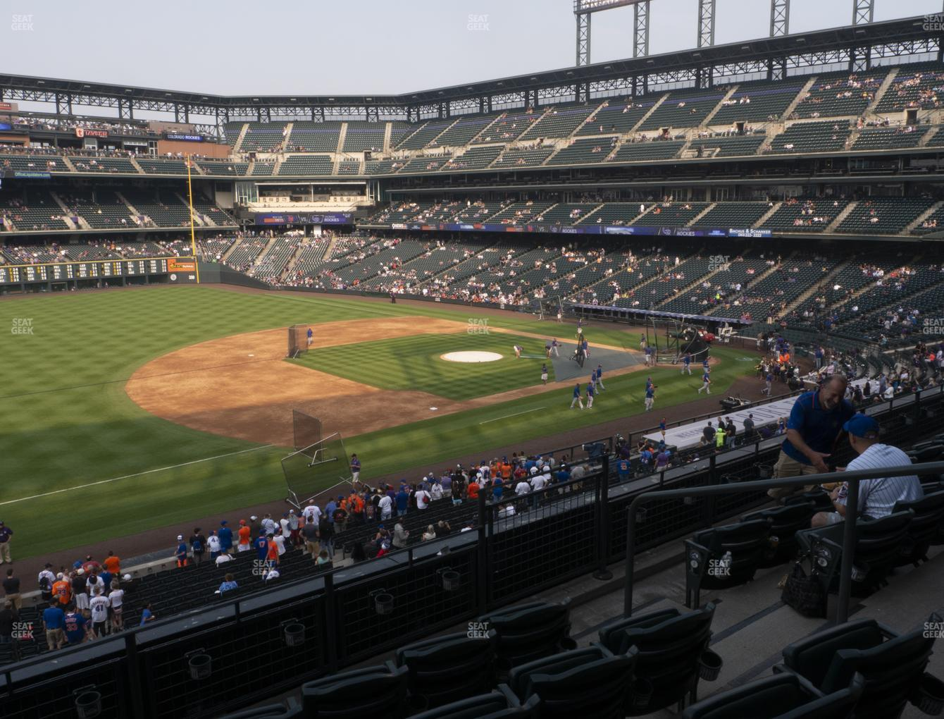 Colorado Rockies at Coors Field Section 243 View