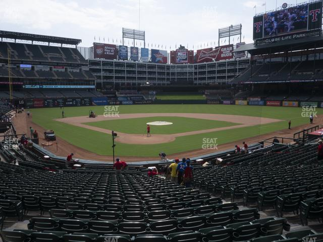 Globe Life Park Section 27 view