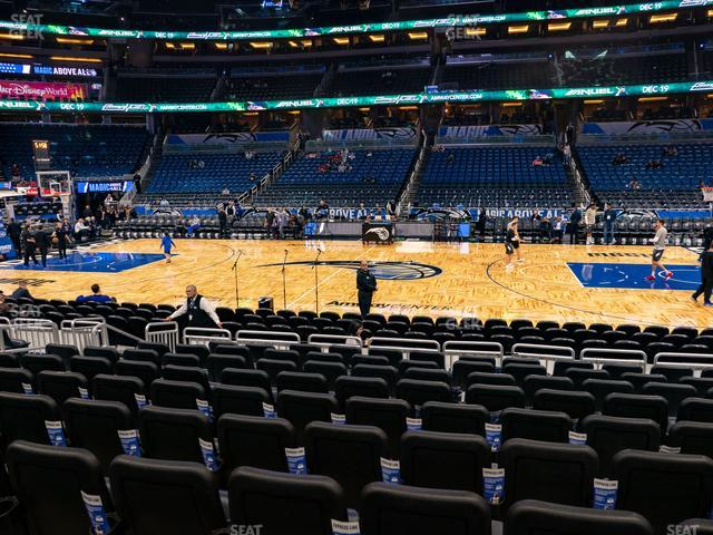 Amway Center Section 114 view