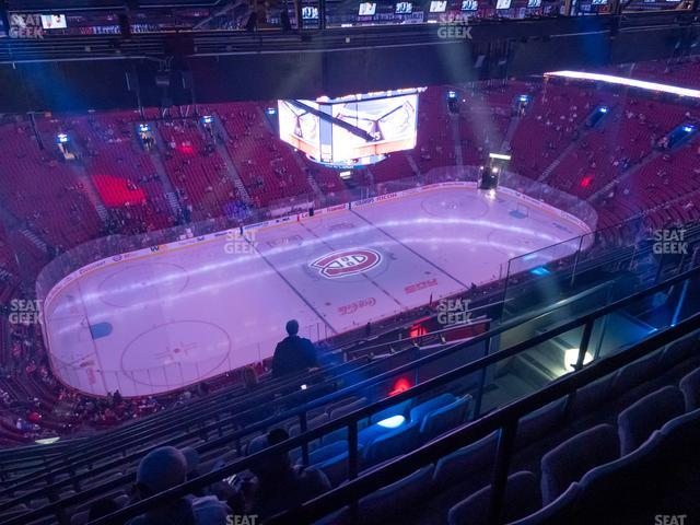 Bell Centre Section 404 view