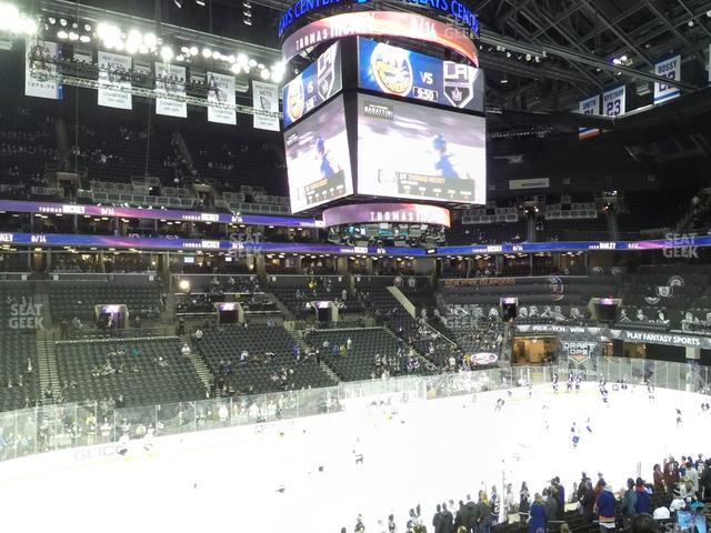 Barclays Center Section 110 view