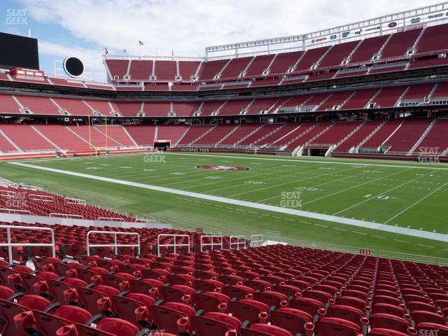 Levi's Stadium Section 133 view