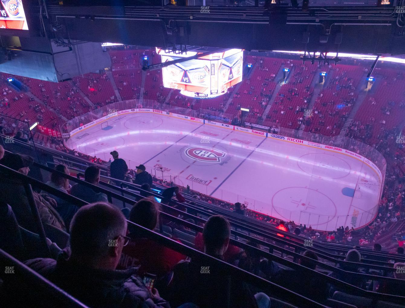 Montreal Canadiens at Bell Centre Section 416 View