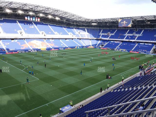 Red Bull Arena Section 213 View