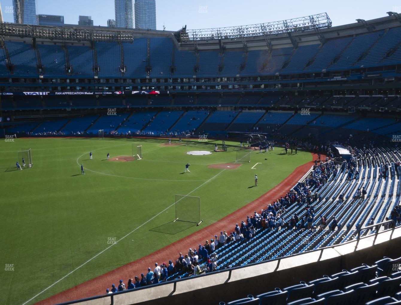 Toronto Blue Jays at Rogers Centre Section 237 R View