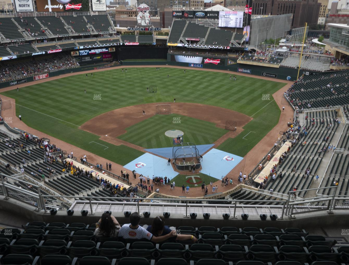 Minnesota Twins at Target Field Section 316 View