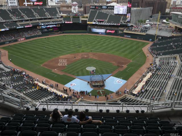 Target Field Section 316 view