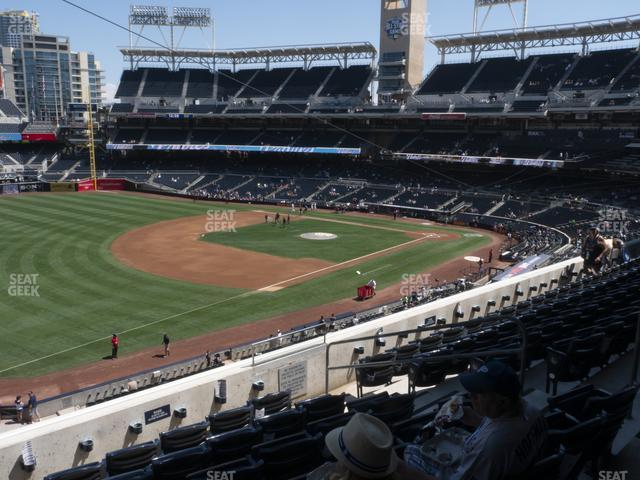 Petco Park Section 218 view