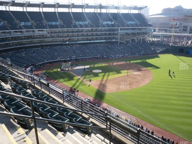 Progressive Field Section 428 view