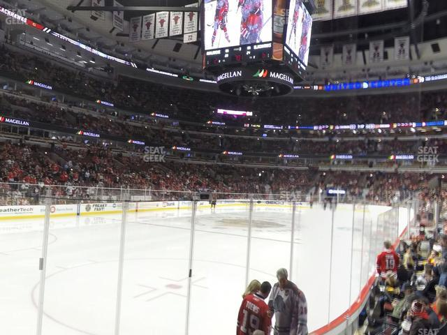 United Center Section 104 view