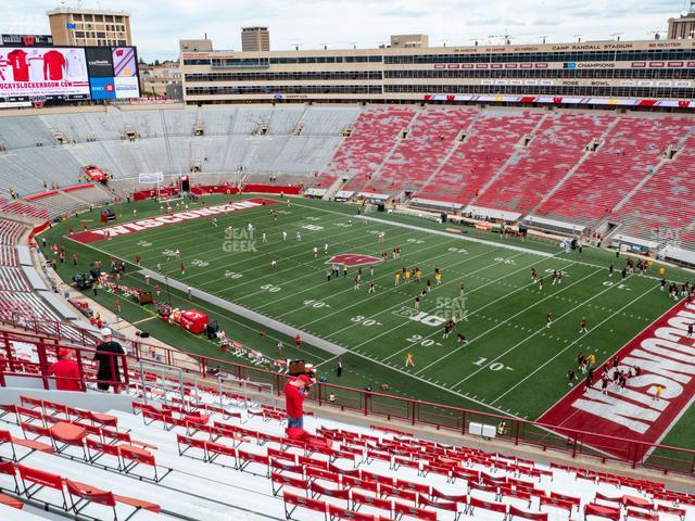 Camp Randall Stadium Section BB view