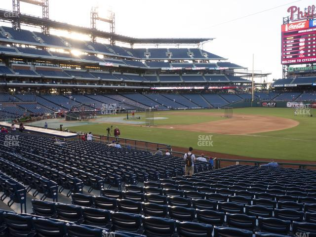 Citizens Bank Park Section 113 view