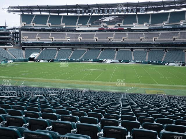 Lincoln Financial Field Section 101 view
