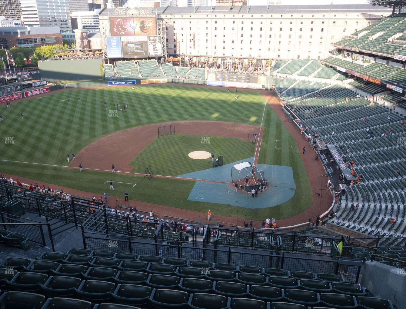 Baltimore Orioles at Oriole Park at Camden Yards Section 346 View