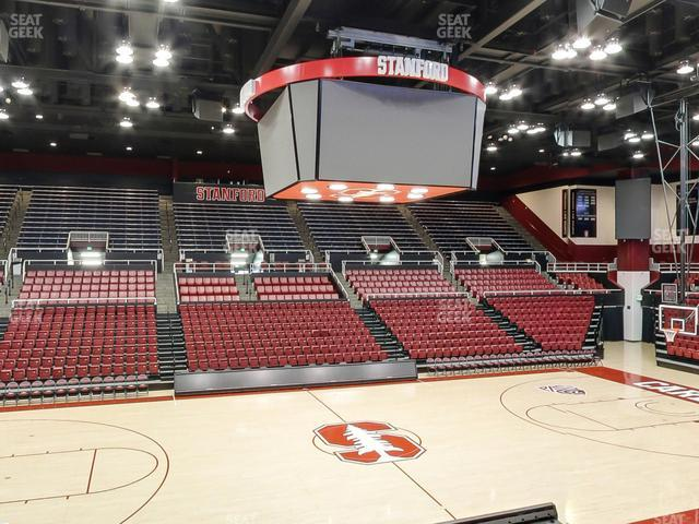 Maples Pavilion Section 10 view