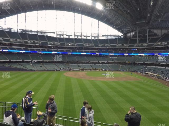 Miller Park Section 237 view