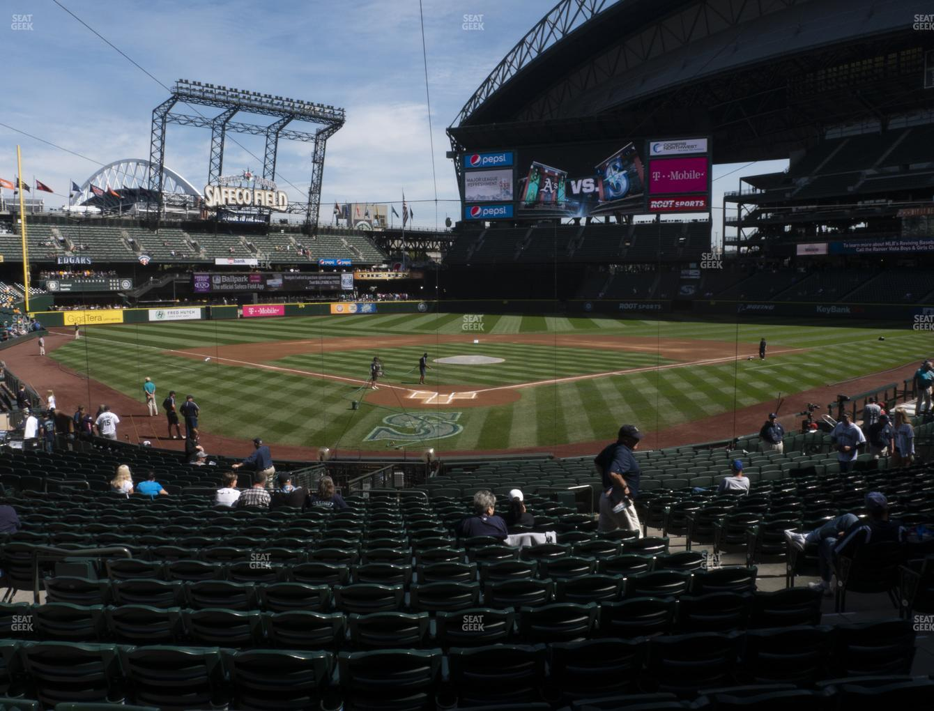Seattle Mariners at T-Mobile Park Section 128 View