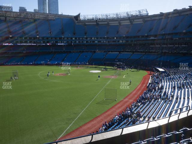 Rogers Centre Section 238 R view