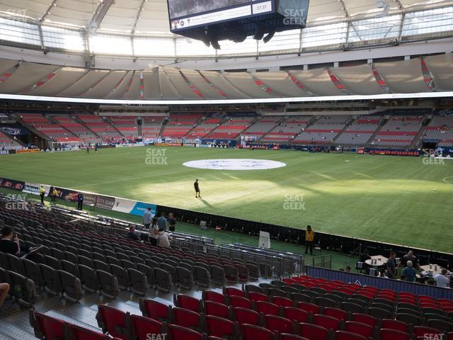 BC Place Stadium Section 238 view