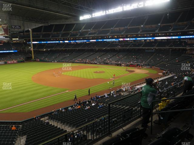 Minute Maid Park Section 208 view