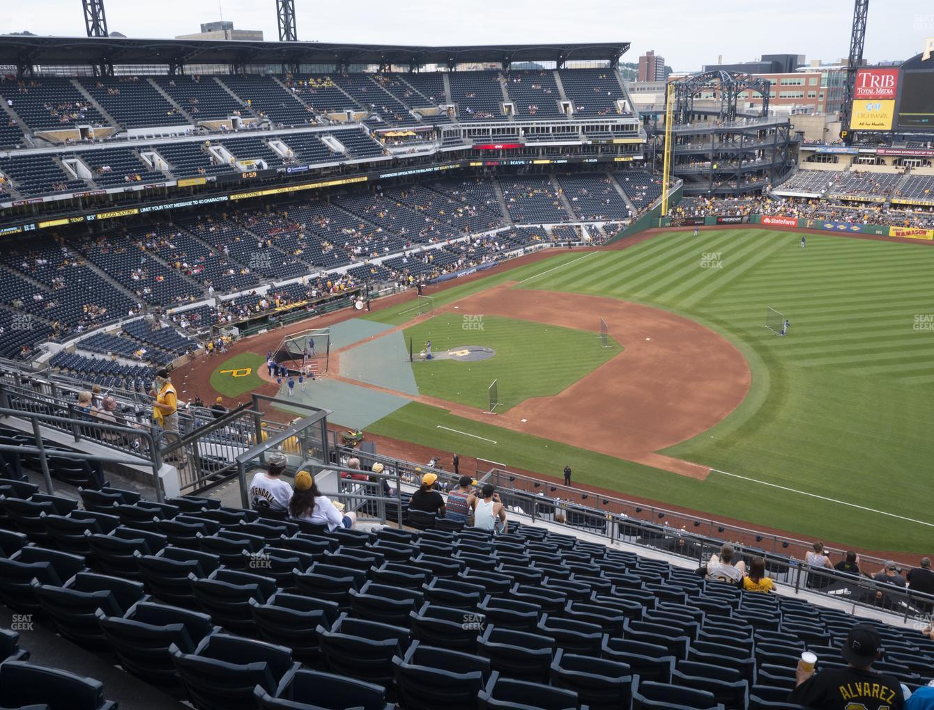 PNC Park Section 308 Seat Views | SeatGeek